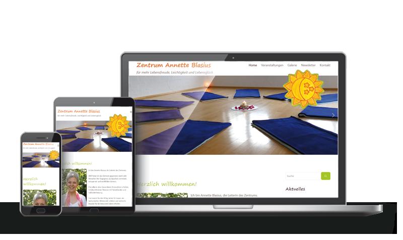 Zentrum Annette Blasius - Referenz Web-Design