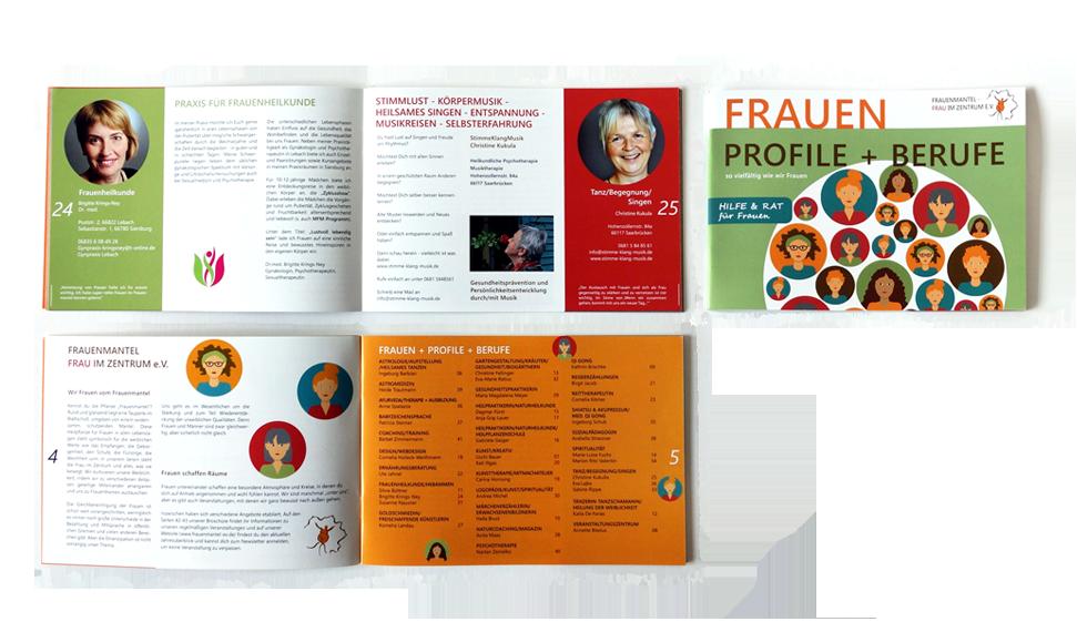Broschüre Referenzen Print