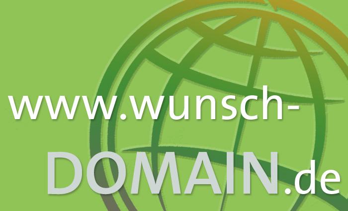 Die Wunsch-Domain finden