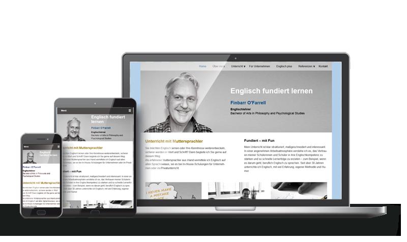 Englischlehrer - Referenz Web-Design Saarbrücken