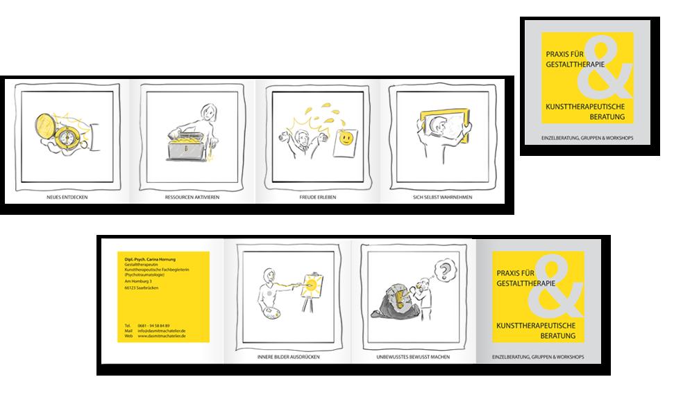 Flyer | Praxis für Gestalttherapie