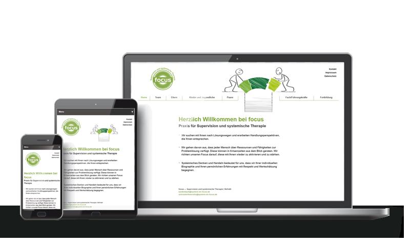 System im Focus - Referenz Web-Design Saarbrücken