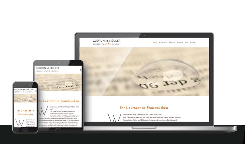 Korrektorat & Lektorat - Referenz Web-Design