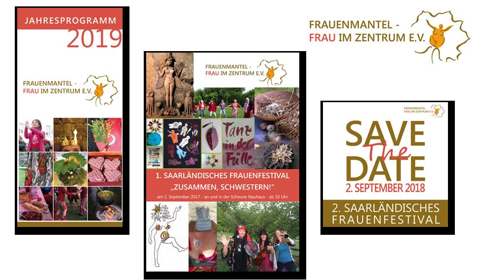 Logo   Flyer   Frauenmantel e.V.