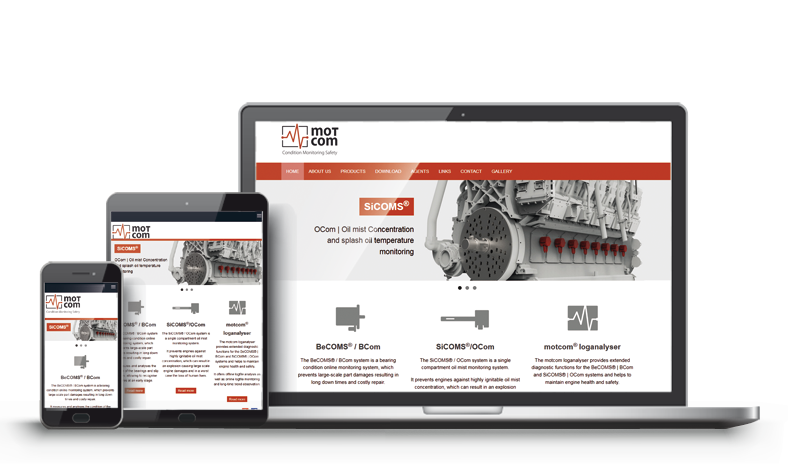 motcom GmbH - Referenz Web-design