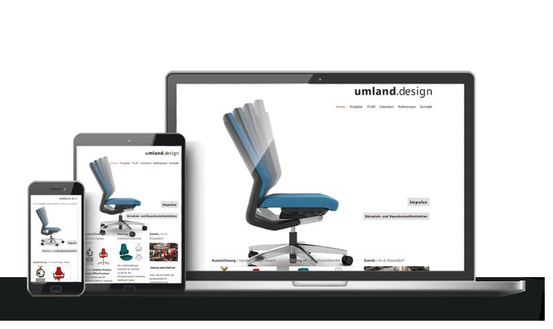 Umland Design - Referenz Web-Design