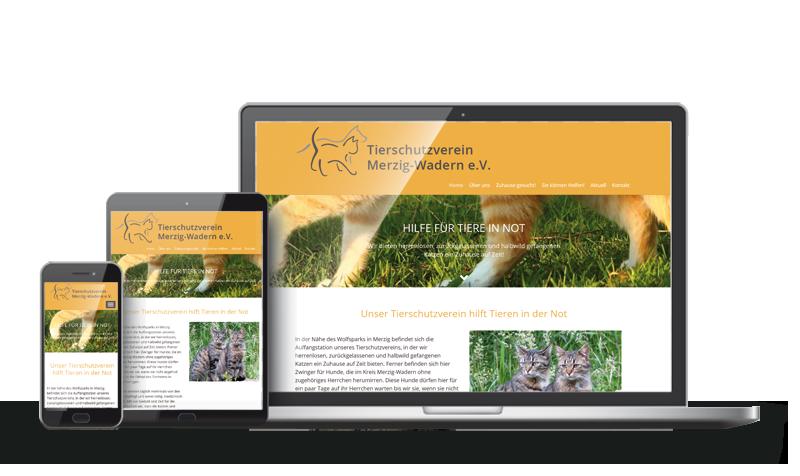 Tierschutzverein Merzig-Wadern - Referenz Webdesign